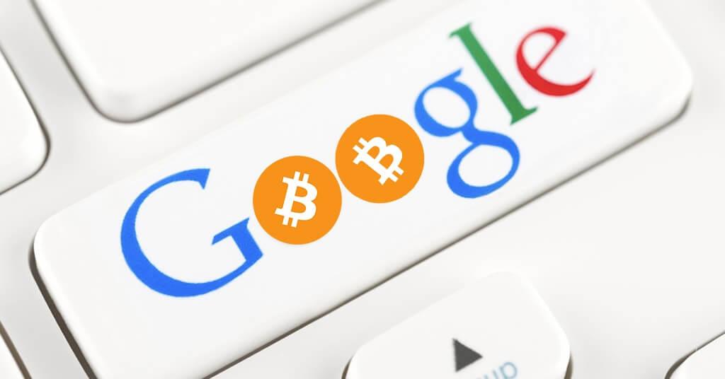 Криптовалюты в конвертере валют Google