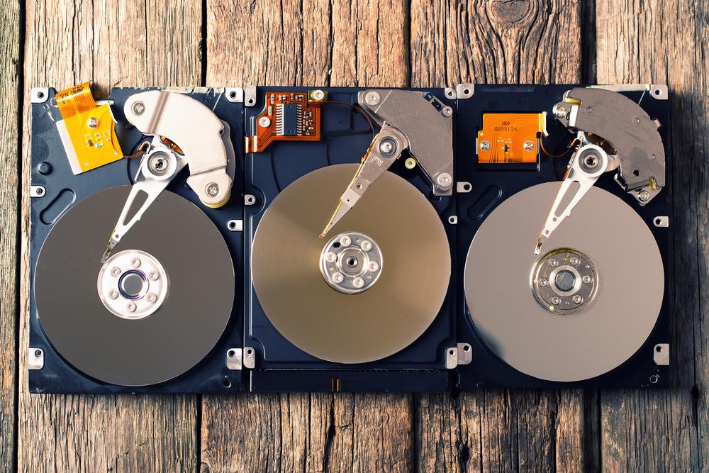 Майнинг криптовалюты на жестком диске