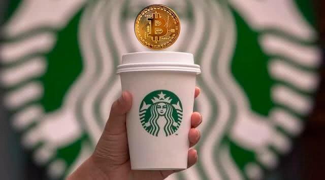 В Starbucks принимаеют криптовалюту